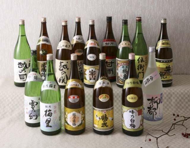 sakeprovning i Japan med Niigata-sake