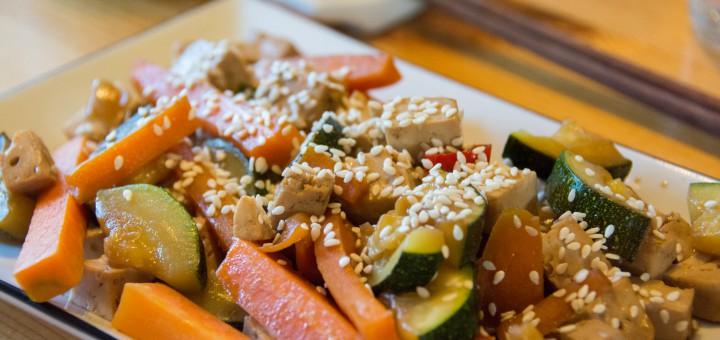 Tofu med sake