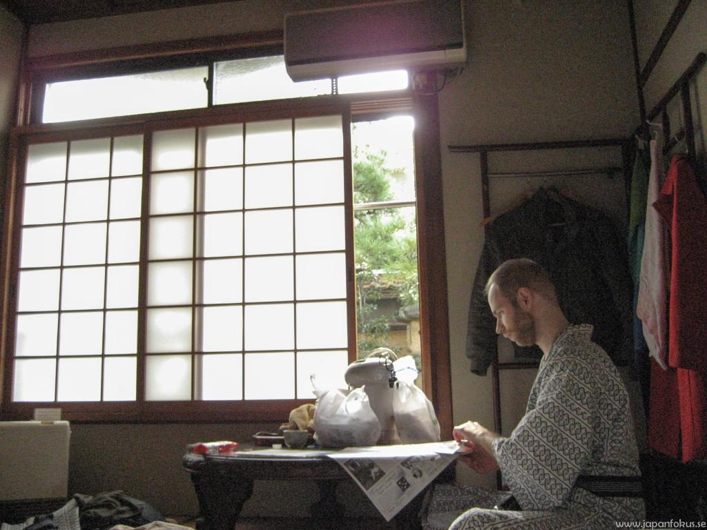 Rakucho Ryokan interiör