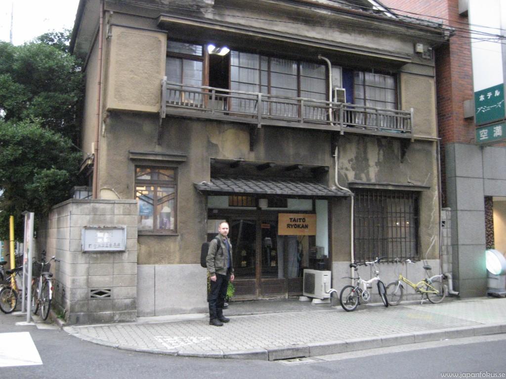 Taito Ryokan exteriör