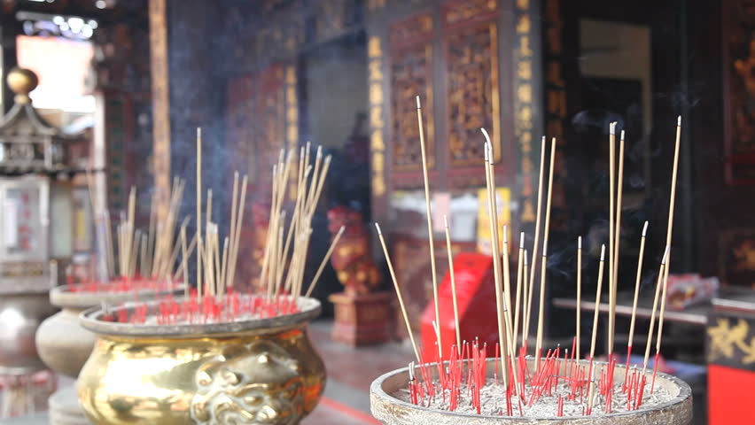Incense at temple
